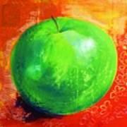 Juicy Green Art Print