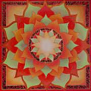 Juicy Lotus Art Print