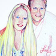 Jules And Tim Art Print