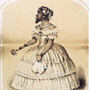 Julia Pastrana, Bearded Lady Art Print