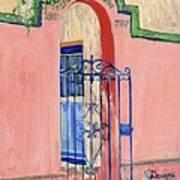 Juliette Low Garden Gate Savannah Art Print
