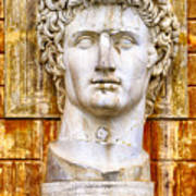 Julius Caesar At Vatican Museums 2 Art Print by Stefano Senise