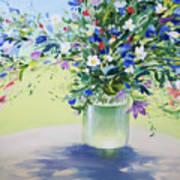 July Buquet Art Print