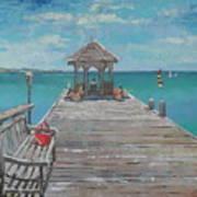 Jumby Dock Art Print