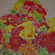 June Bouquet Art Print