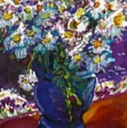 June Daisies Art Print