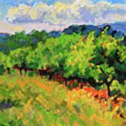 June Orchard Art Print
