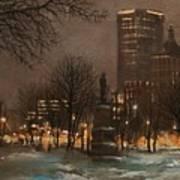Juneau Park Milwaukee Art Print