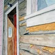 Juneau Townhouse Art Print