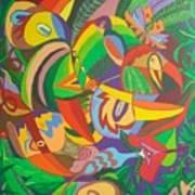 Jungle 1 Art Print