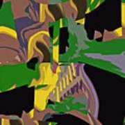 Jungle Dance IIi Of IIi Art Print