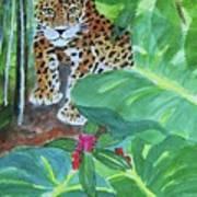 Jungle Jaguar Art Print