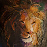 Jungle Lion Art Print
