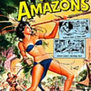 Jungle Movie Poster 1957 Art Print