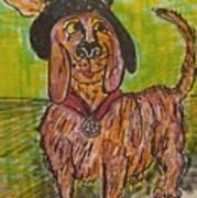Junk Yard Dog Art Print