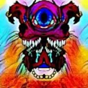 Junkie Cyclops Art Print