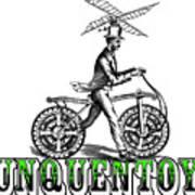 Junquentoys Bike-o-vator Art Print