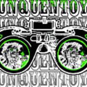 Junquentoys Goggle Fader Fashion Art Print
