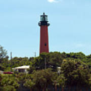 Jupiter Inlet Light Art Print