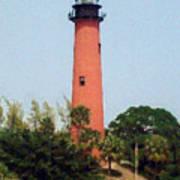 Jupiter Inlet Lighthouse Art Print