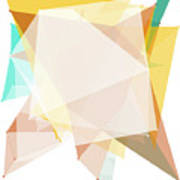 Jura Polygon Pattern Art Print