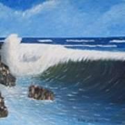 Juss Pass Hull Bay Art Print