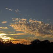 Just Before Sunset Art Print