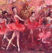 Just Dancing Art Print