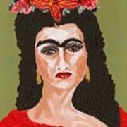 Just Frida Art Print
