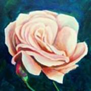 Just Peachy Art Print by Dana Redfern