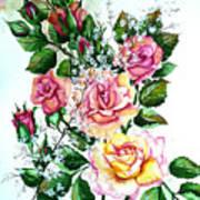 Just Roses Art Print