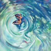 Just Swimming Art Print