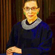 Justice Ginsburg Art Print