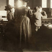 Juvenile Court, 1910 Art Print
