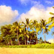Kaanapali Beach Maui Art Print