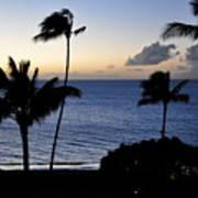 Ka'anapali Beach Maui Art Print