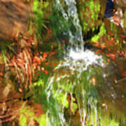 Waterfall Of Love Art Print