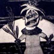 Kachina Goes Hawaiian Art Print