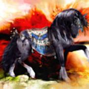 Kachina Hopi Spirit Horse  Art Print