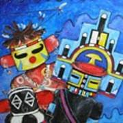 Kachina Knights Art Print