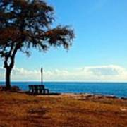 Kahe Point Beach Park Art Print