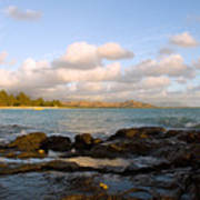 Kailua Bay Sunrise Art Print