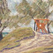 Kailua Tower 8 Art Print