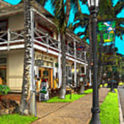 Kailua Village - Kona Hawaii Art Print