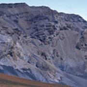 Kalahaku Pali And The Haleakala Crater Art Print