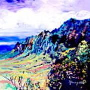 Kalalau Valley 4 Art Print