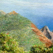 Kalalau View Art Print