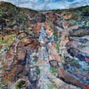 Kalbarri Gorge Art Print