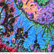 kaleido fa-GoldenBridge12b2 Art Print