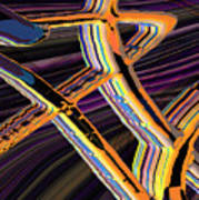kaleido-Papillon Callg.10x11m23i Art Print